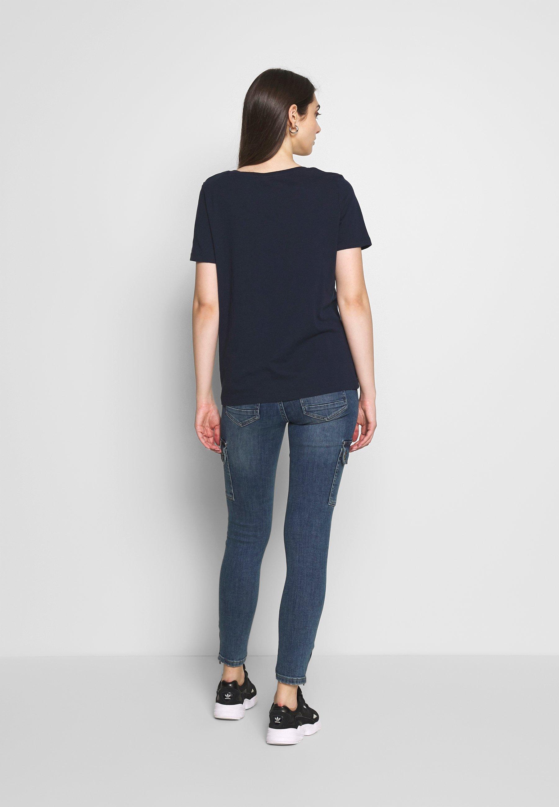 Noisy May NMKIMMY POCKET - Jeansy Skinny Fit - medium blue denim