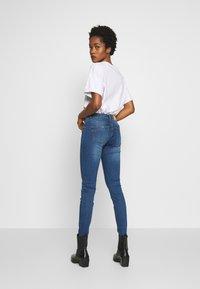 Noisy May - NMEVE  - Jeans Skinny - medium blue denim - 2