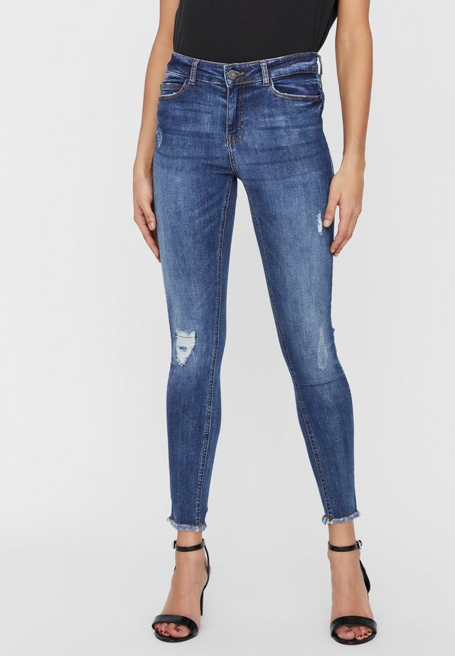 NMLUCY  - Jeans Skinny Fit - light blue denim