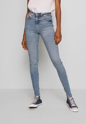 NMVICKY - Skinny džíny - light blue denim