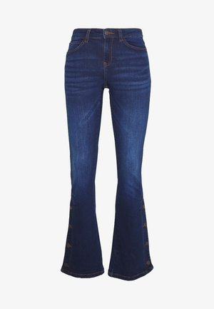 Flared jeans - dark blue denim
