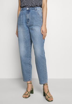 NMSELLA SLOUCHY  - Relaxed fit jeans - light blue denim