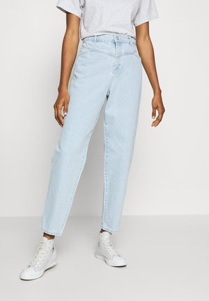 NMJUNE RELAXED TAPERED ANKLE - Jeans Tapered Fit - light blue denim