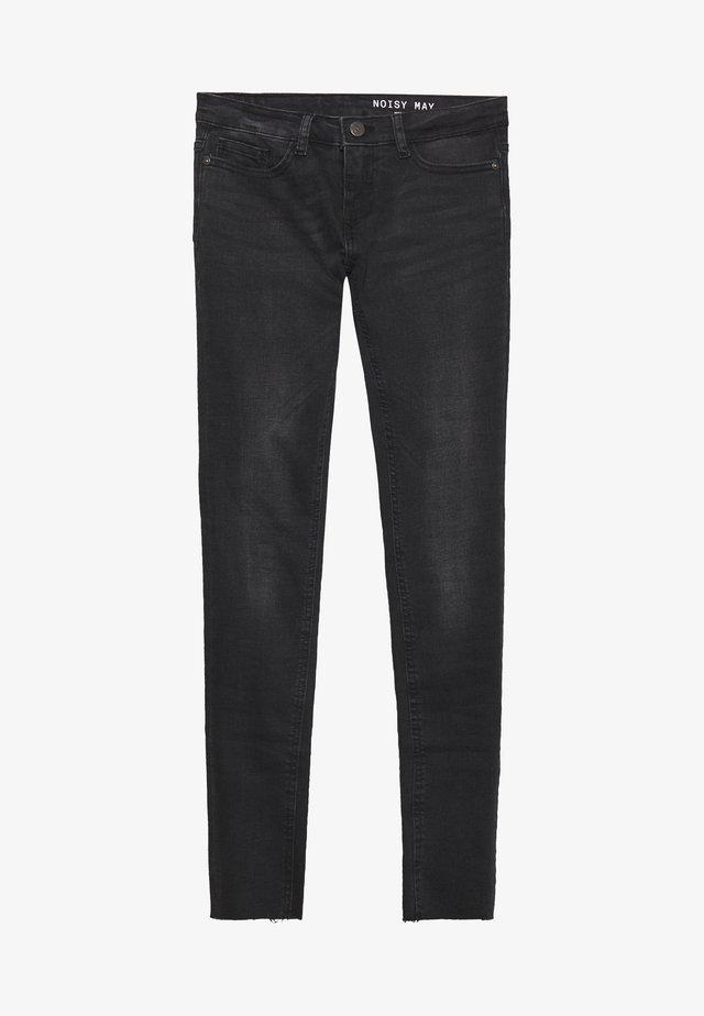 NMEVE ANKLE - Jeans Slim Fit - black denim