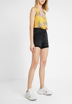 NMBE LEXI  - Short en jean - black denim
