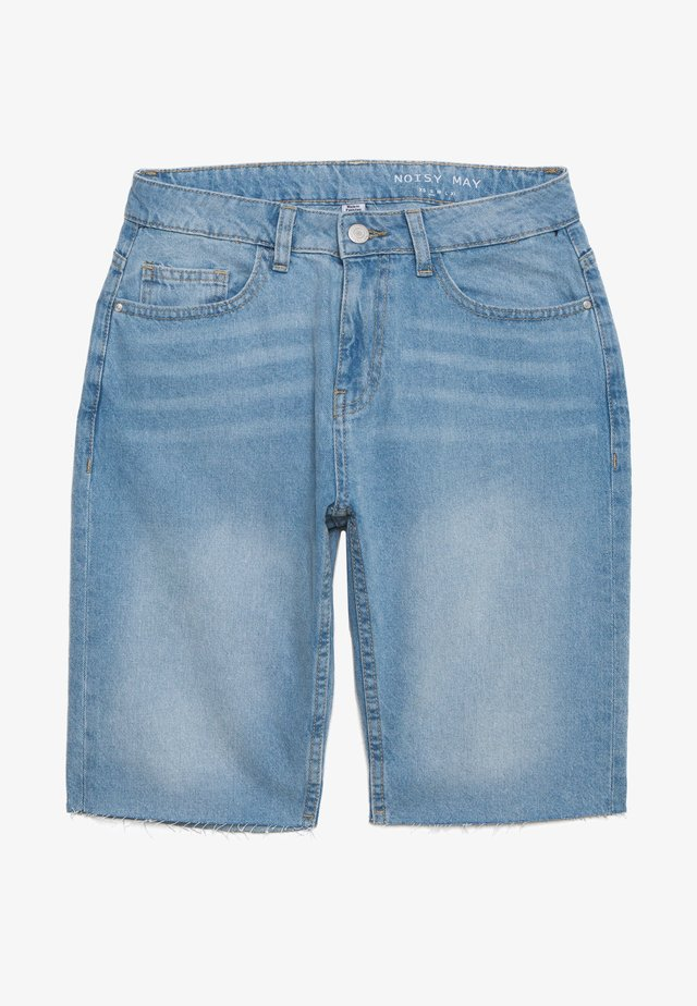 NMBE BERMUDA - Short en jean - light blue denim
