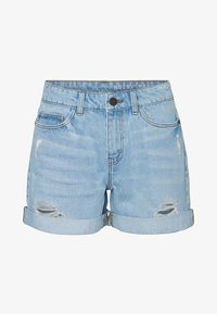 Noisy May - Jeansshorts - light blue denim - 4