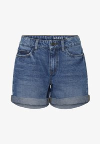 Noisy May - Denim shorts - medium blue denim - 5
