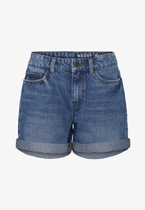 Jeansshorts - medium blue denim