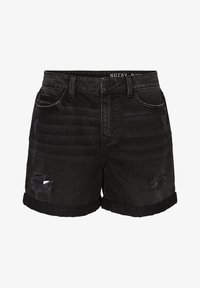 Noisy May - Jeans Short / cowboy shorts - black denim - 4