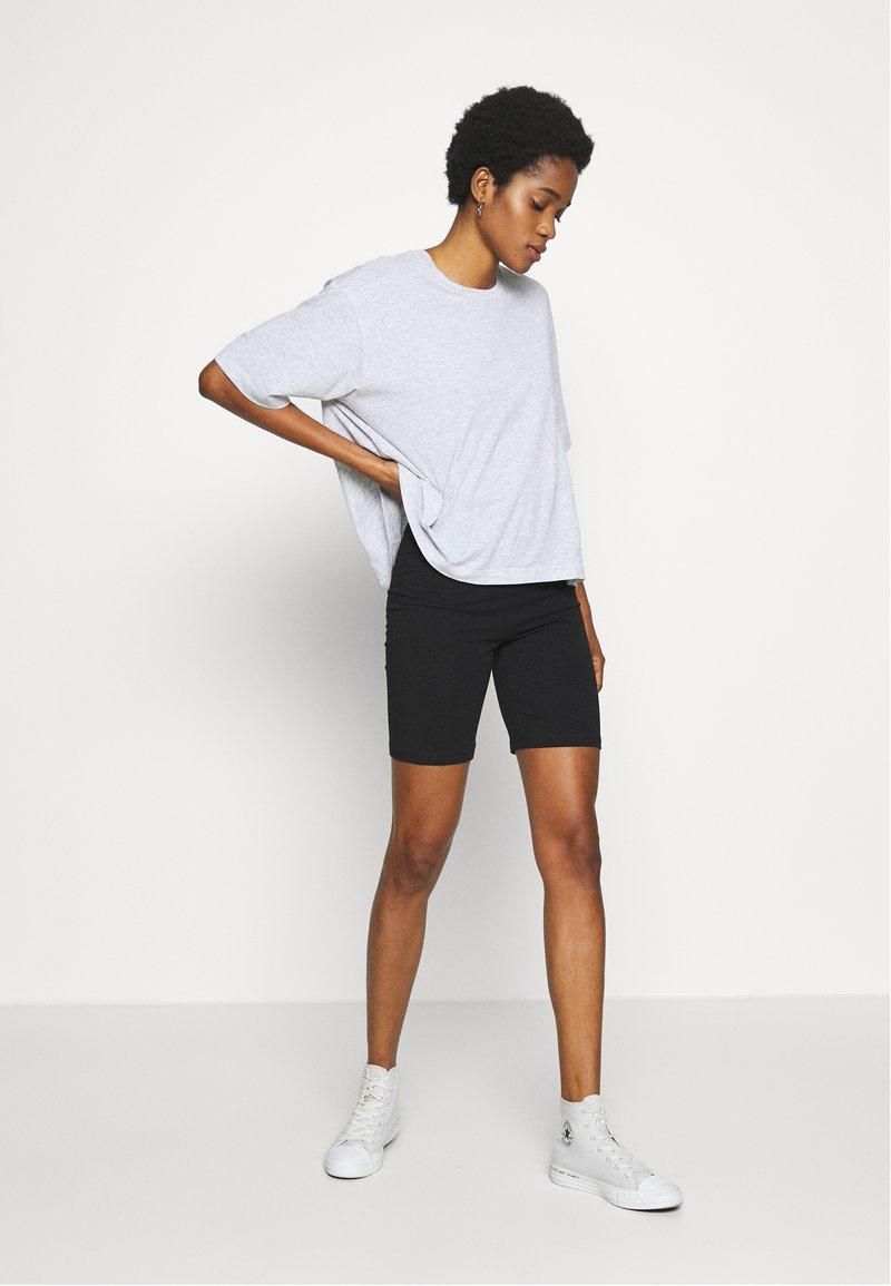 Noisy May - NMLAILA 2 PACK - Shorts - black