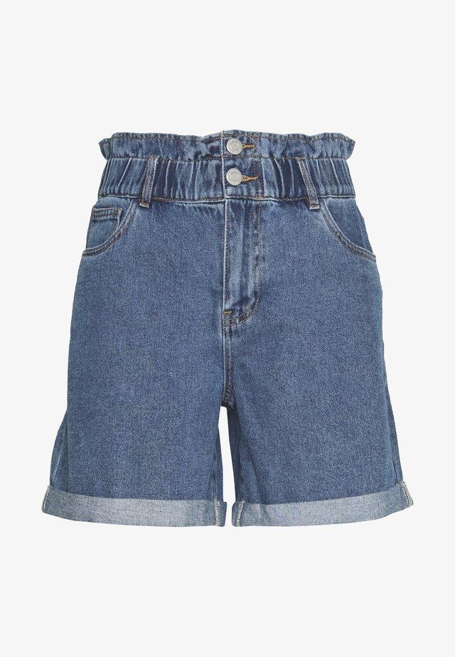 Jeansshorts - medium blue denim