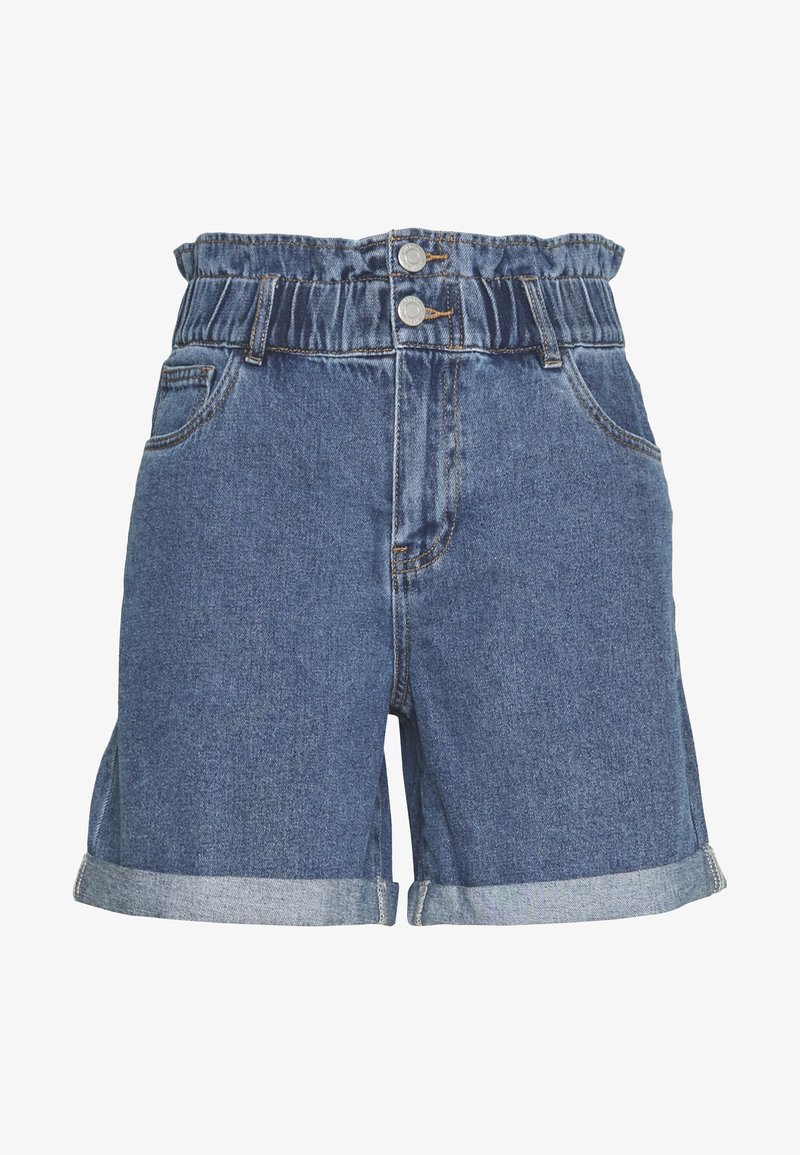 Noisy May - Jeansshorts - medium blue denim