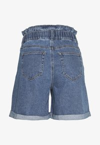 Noisy May - Jeansshorts - medium blue denim - 1