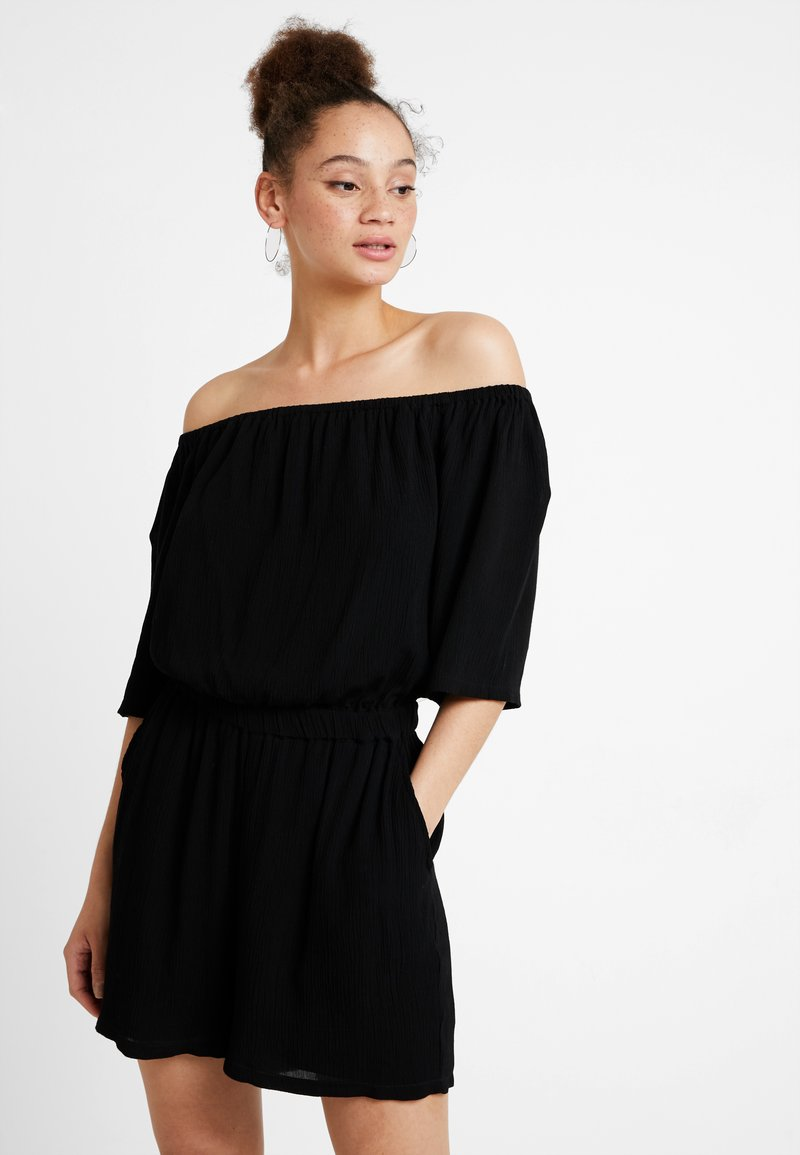 Noisy May - NMALBERTE NEW OFF SHOULDER - Jumpsuit - black