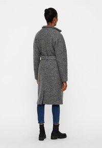 Noisy May - NMZOE  - Płaszcz wełniany /Płaszcz klasyczny - dark grey - 2