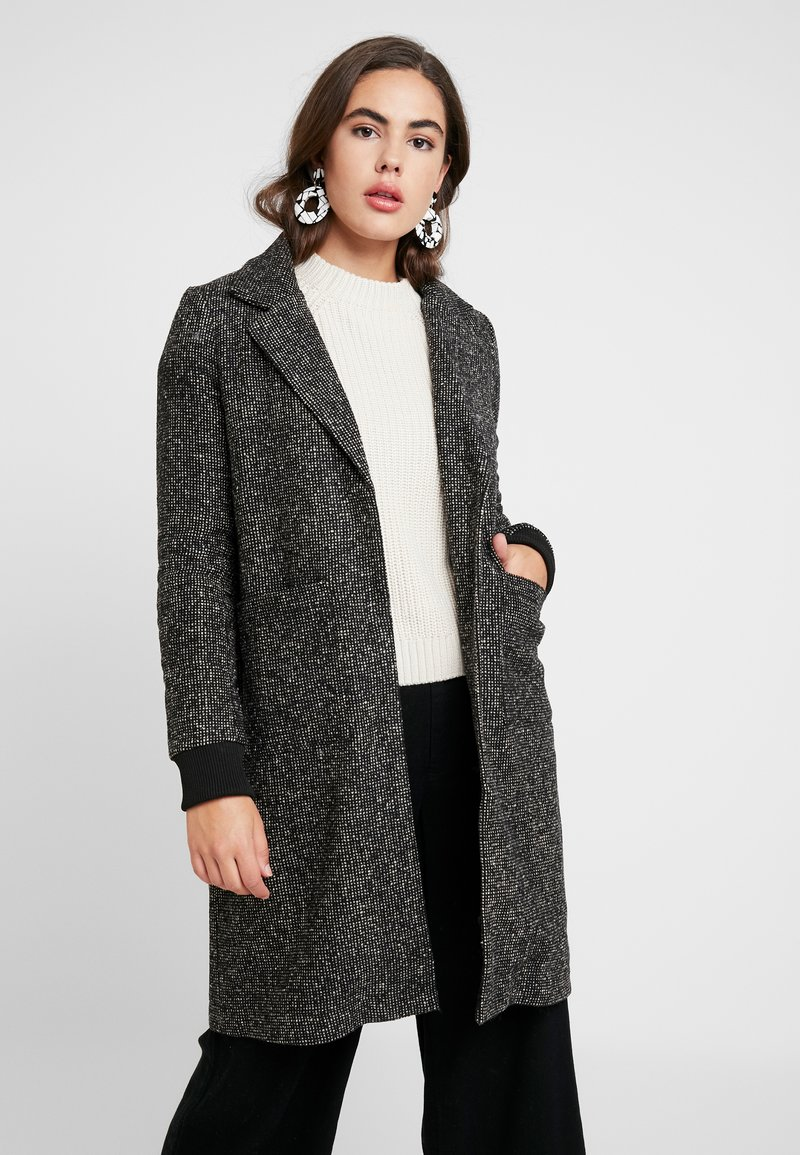 Noisy May - Manteau classique - white pepper/black