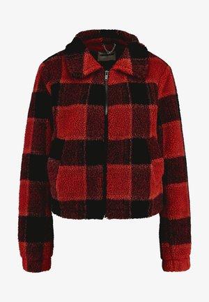 Winter jacket - tandori spice/red
