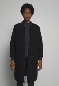Noisy May - Winter coat - black - 0