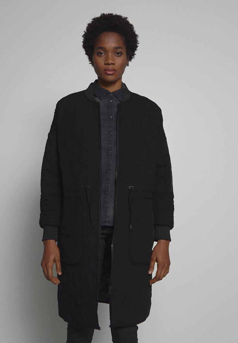 Noisy May - Zimní kabát - black