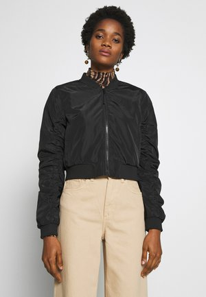 NMSADIE CROP JACKET - Bomberjacks - black