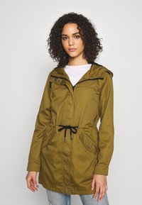 Noisy May - NMDREW LONG JACKET - Parkatakki - plantation - 0