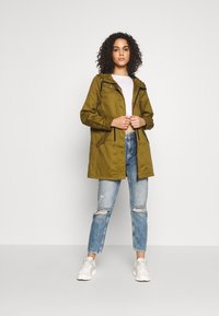 Noisy May - NMDREW LONG JACKET - Parkatakki - plantation - 1