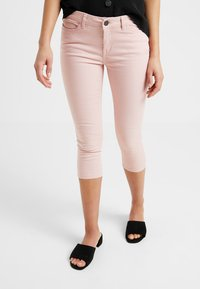 Noisy May Petite - NMLUCY CROPPED PANTS - Broek - mellow rose - 0