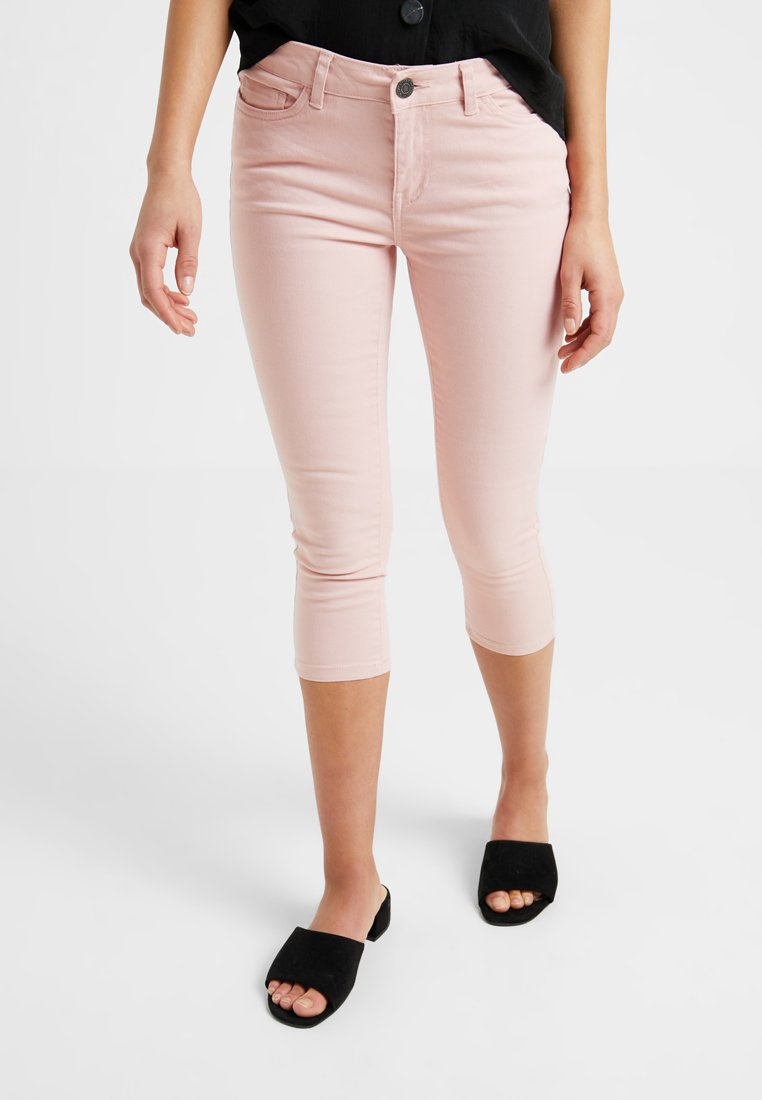 Noisy May Petite - NMLUCY CROPPED PANTS - Broek - mellow rose
