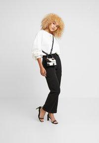Noisy May Petite - Trousers - black - 2
