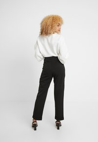 Noisy May Petite - Trousers - black - 3