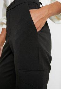 Noisy May Petite - Trousers - black - 4
