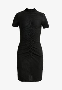 Noisy May Petite - NMDIANA SHORT DRESS - Day dress - black - 4