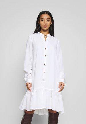 NMCHARLEE DRESS PETITE - Sukienka letnia - bright white