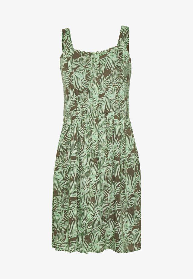 NMFLORA STRAP DRESS PETITE - Robe d'été - kalamata/green ash