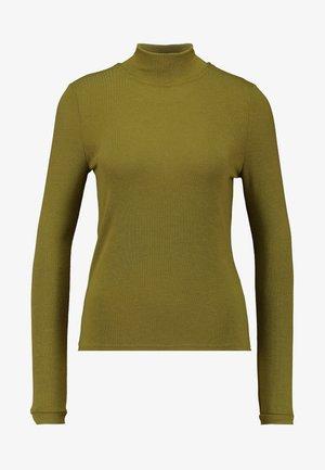 NMAVERY HIGH NECK PETITE - Long sleeved top - plantation
