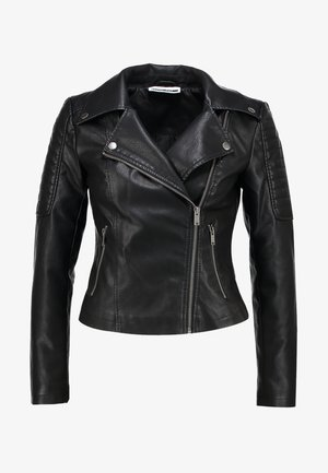 NMREBEL JACKET   - Giacca in similpelle - black