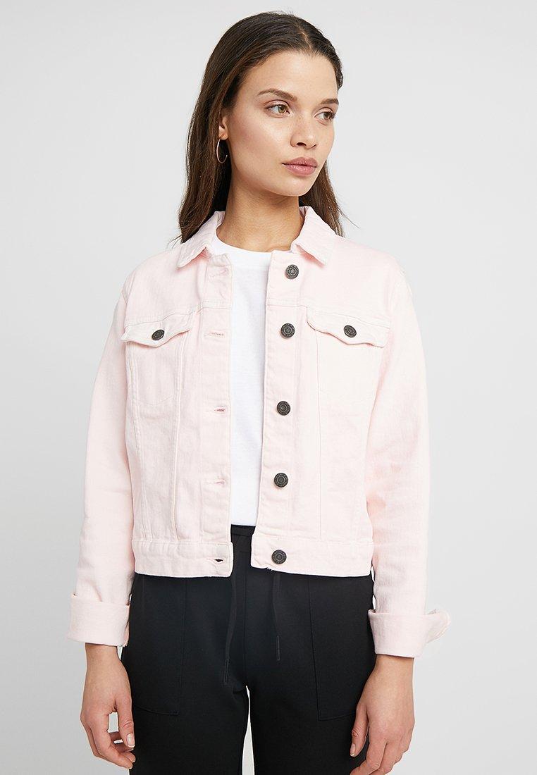 Noisy May Petite - NMDORA - Denim jacket - barely pink