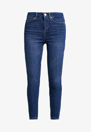 NMCALLIE - Vaqueros pitillo - medium blue denim