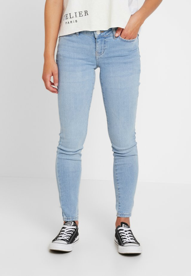 NMEVE - Jeansy Skinny Fit - light blue denim