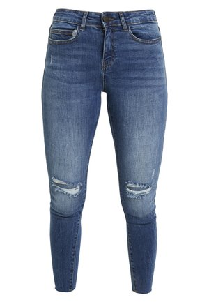 NMLUCY - Jeans Skinny Fit - medium blue denim