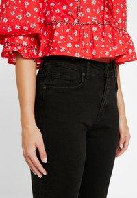 Noisy May Petite - NMJENNA - Straight leg jeans - black - 3