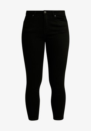 NMLUCY ANKLE JEANS  - Jeansy Skinny Fit - black