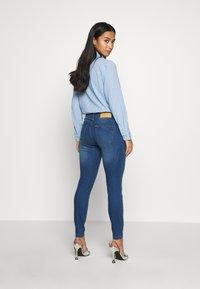 Noisy May Petite - Jeans Skinny Fit - medium blue denim - 2