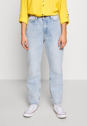 NMLISA VOLUM  - Jeans straight leg - light blue denim