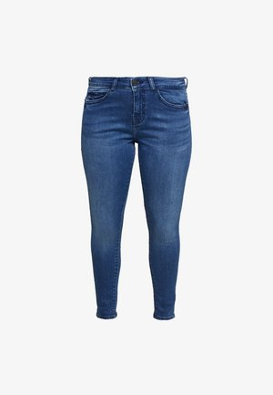 NMLUCY  - Jeansy Skinny Fit - light blue denim