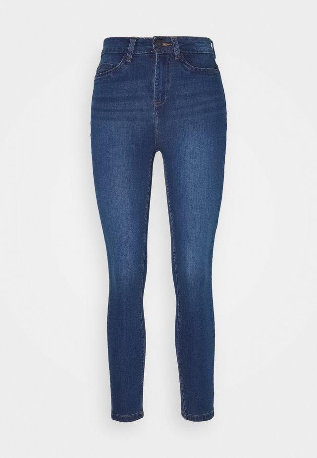 NMCALLIE - Jeansy Skinny Fit - medium blue denim