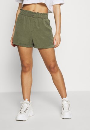 NMMARIA SHORT PAPERBACK - Szorty - olive night