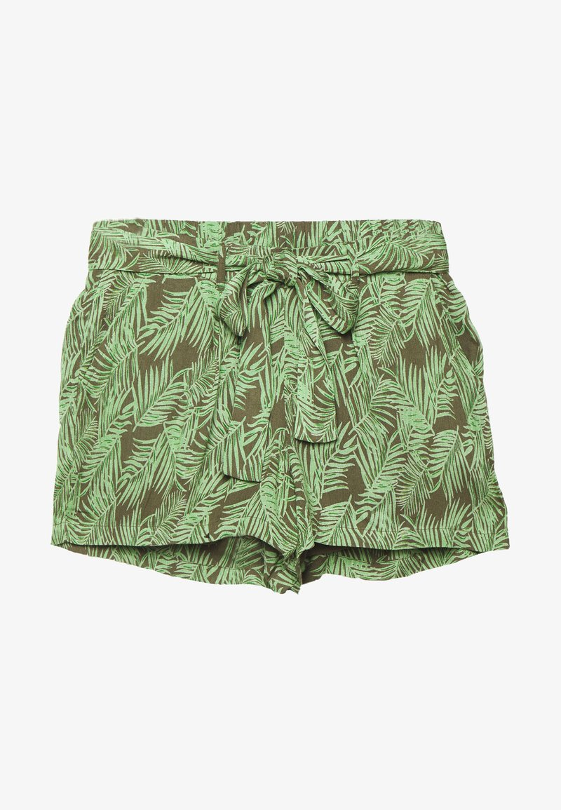 Noisy May Petite - NMFLORA - Shorts - kalamata/green ash