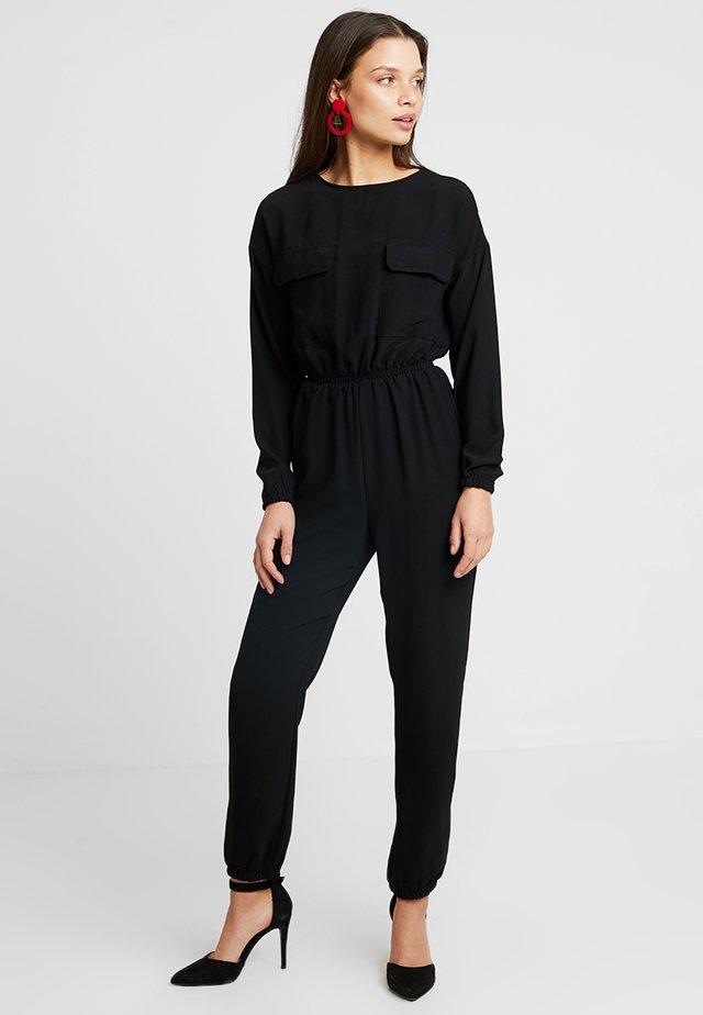 NMNINA UTILITY - Jumpsuit - black